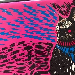 Marc By Marc Jacobs Accessories - Rare Marc by Marc Jacobs neoprene cat laptop case